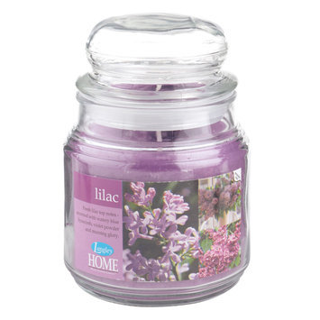 Langley Home Lilac Scented 15 oz. Jar Candle - LANGLEY PRODUCTS L.L.C.