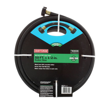 Craftsman 50 Ft. x 1/2 in. Soaker Hose