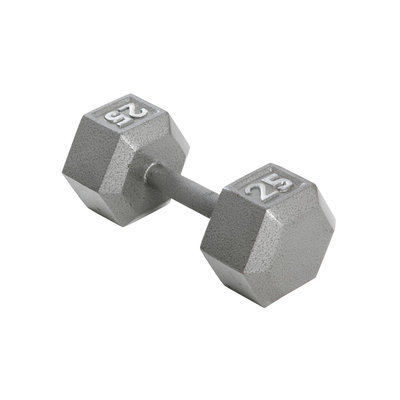 Weider 25 lb. Hex Dumbbell - WEIDER HEALTH AND FITNESS