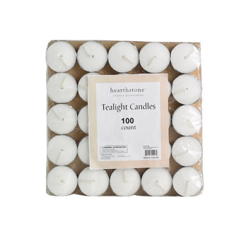 Tealight Candle Unscented 100 Count - CKK INDUSTRIAL LTD