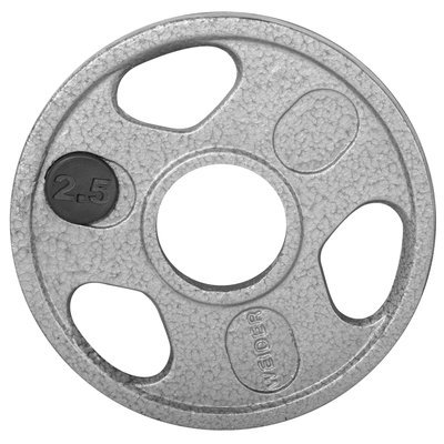 Weider 2.5 lb. Olympic Handle Hammertone Plate