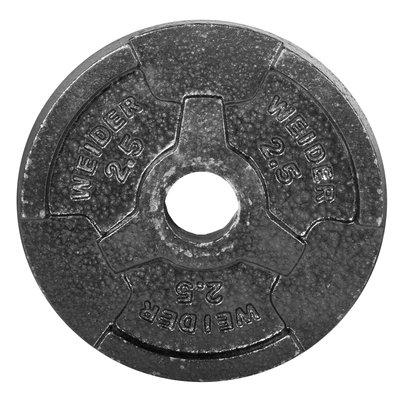 Weider 2.5 lb. Standard Handle Plate (Black)