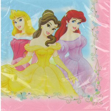 Hallmark Disney Princess Fairy-Tale Friends Lunch Napkins
