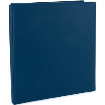 Pioneer Family Treasures Deluxe 12 x 15 Scrapbook Album - Midnight Blue