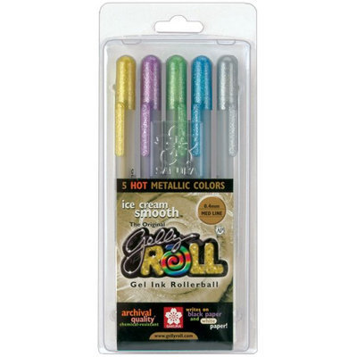 Sakura Gelly Roll Pen Sets, Hot Metallic Colors