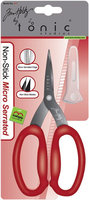 Tim Holtz Kushgrip Non Stick Micro Scissors, Serrated