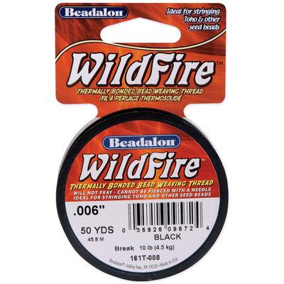 Beadalon Black -Wildfire String Wire