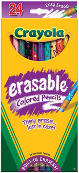 Crayola, LLC Crayola 24ct Erasable Colored Pencils