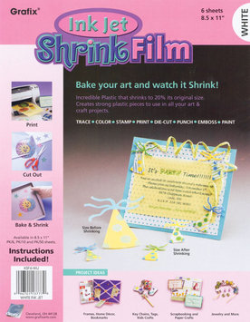 Grafix Ink Jet Shrink Film 8.5