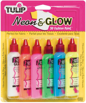 Other Tulip 3D Neon and Glow Fabric Paint Starter Set