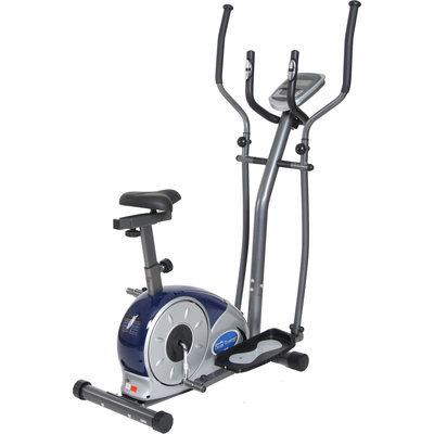 Exercise Bikes Body Champ BRM3681 Cardio Elliptical Dual Trainer