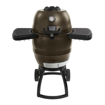 IN ZONE PRODUCTS, INC. KEG00 Big Steel Keg Charcoal Convection Grill Brown - IN ZONE PRODUCTS, INC.