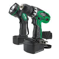 Hitachi DS14DVF3 14.4V 3/8 Driver Drill Kit with Flashlight