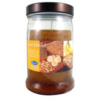 LANGLEY PRODUCTS L.L.C. 15 Oz Metal Lidded Banana Nut Bread Candle - LANGLEY PRODUCTS L.L.C.