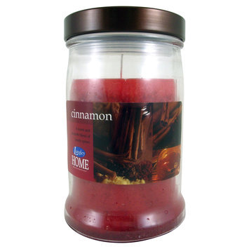 15 Oz Metal Lidded Cinnamon Candle - LANGLEY PRODUCTS L.L.C.