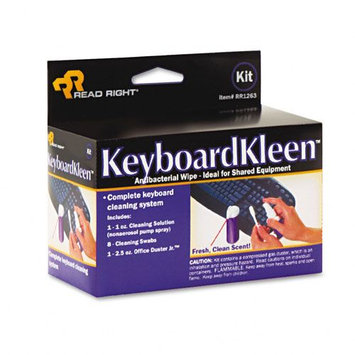 Read-Right REARR1263 Cleaning Kit, For Microcomp, Word Process, CRTs, Typewriters