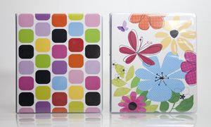 Carolina Pad Eye Candy Binder 1 inch 8.5 x 10.5, Assorted - CAROLINA PAD & PAPER COMPANY