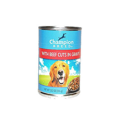 Champion Breed Dog Food with Beef Cuts in Gravy 13.2 oz - KMART CORPORATION