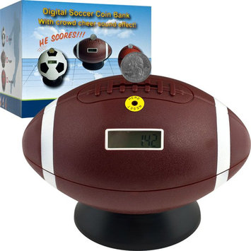 Trademark Games Football Digital Coin Counting Bank by TGT