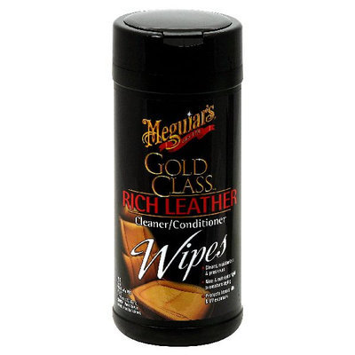 Meguiars #G-10900 25CT Leather Wipes