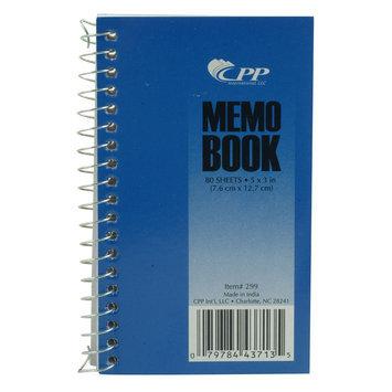 Carolina Pad & Paper Company Memo Book, 3 in. x 5 in. Side Coil Memo Book