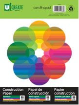 Carolina Pad & Paper Company Construction Paper, 88 Sheets