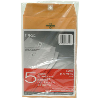Mead Products Heavyweight Clasp Envelopes