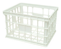 United Plastics Large Crate White - UNITED COMB & NOVELTY CORP.
