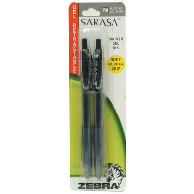 Sarasa Gel 2pk Pen Retractable Soft Grip