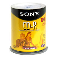 Sony CD-R 700MB/80min 48x Spindle 100-Pack 100CDQ80LS3T