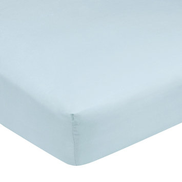 Carter's Easy-Fit Sateen Crib Fitted Sheet-Blue