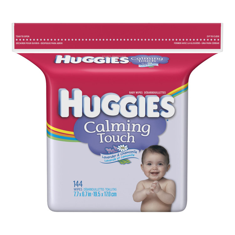 Huggies® Calming Touch Lavender & Chamomile Baby Wipes