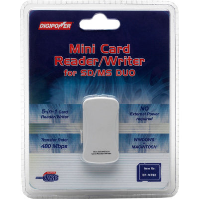 Digi Power Digipower Mini Card Reader for SD & MS Duo