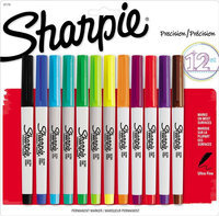 Sharpie Ultra Fine Point Permanent Markers - 12ct