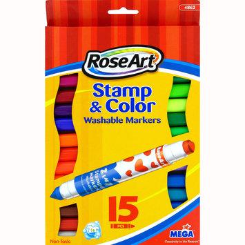 Rose Art Industries Inc. Marker 15 Count Stamp N Color - ROSE ART INDUSTRIES INC