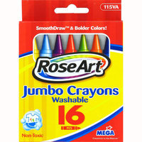 Rose Art 16 Count Jmbo Crayons