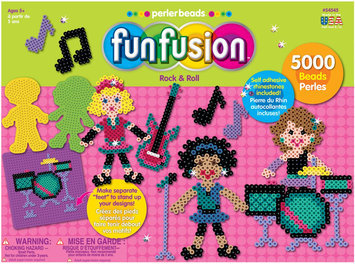 Perler Fun Fusion Fuse Bead Value Activity Kit - Rock and Roll