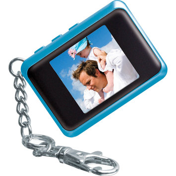 Coby 1.5 in. Digital Photo Keychain - Blue