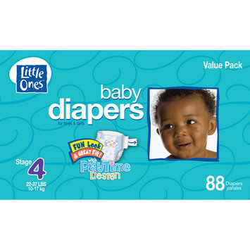 Kmart Corporation Little Ones Stage 4 Club Box Diapers - 88 Count