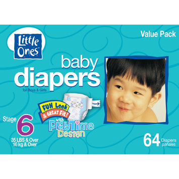Kmart Corporation Little Ones Stage 6 Club Box Diapers - 64 Count