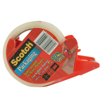 Scotch Packaging Tape with Dispenser
