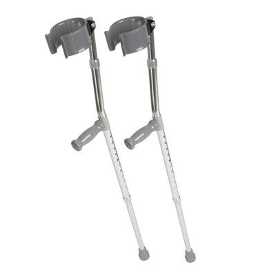 Medline Crutches Forearm - Crutch, Aluminum, Forearm, Adult