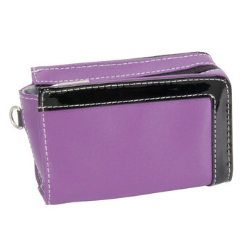 Hi Pro Genuine Leather Camera Case - Purple