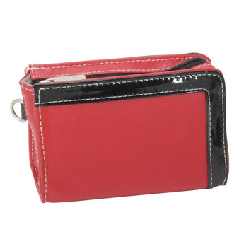 Hi Pro Genuine Leather Camera Case - Red