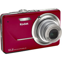 Kodak EasyShare 12.2 Megapixel 3X Optical Zoom Digital Camera - Red
