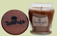 Hanna's Candles TimberWick Nature's Glow Scented Soy Candle - Ember Glow