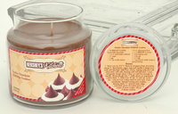 Hanna's Candles Hershey's Kitchen Scented Soy Candle - Double Chocolate Kisses Cookies