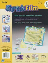 GRAFIX Shrink Film 8.5