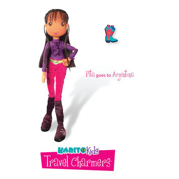 Karito Kids Travel Charmers Pita Goes to Argentina 16-Inch Doll