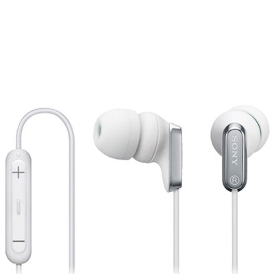 Sony EX Earbuds with iPod Remote, White MDREX38IP/WHI
